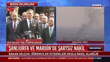 Şanlıurfa ve Mardin'de şartsız nakil