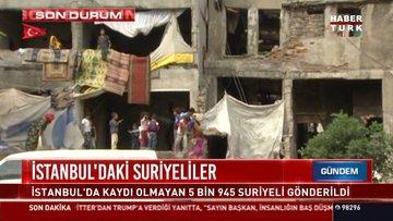 İstabnbul'daki düzensiz göçmenler geri gönderme merkezine sevk edildi
