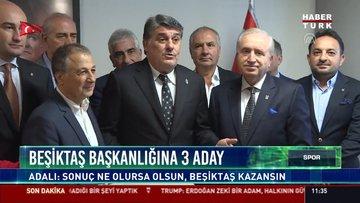 Beşiktaş Başkanlığına 3 aday!