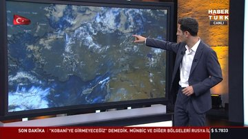 Akdeniz, Ege, İç anadolu, Karadeniz...Yağmur geliyor!