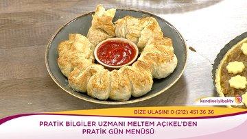 Zeytin Ezmeli Milföy Pizza