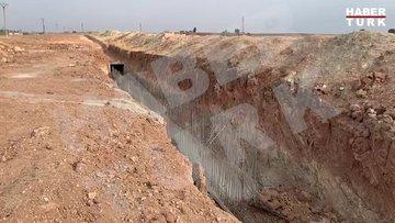 Rasulayn'da YPG/PKK'nın kazdığı tünel ortaya çıktı