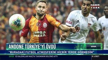 Andone Türkiye'yi övdü