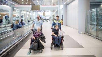 Hasta Yolcular Havalimanı ve Uçakta Nasıl Taşınıyor?