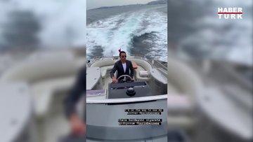 Nusret, Real Madrid'in konakladığı otele deniz yoluyla gitti.