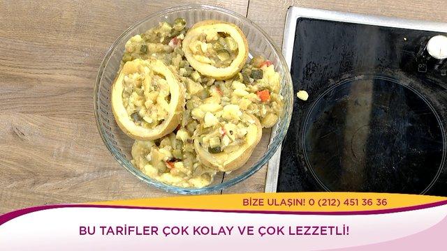 Közlenmiş Patlıcanlı Kumpir