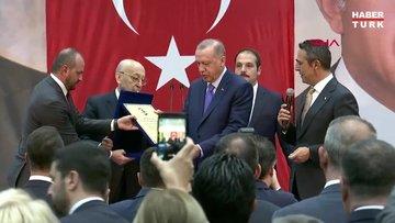 Cumhurbaşkanı Recep Tayyip Erdoğan, Fenerbahçe Yüksek Divan Kurulu'nda konuştu