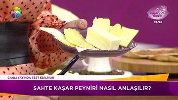 Sahte kaşar peyniri nasıl anlaşılır?