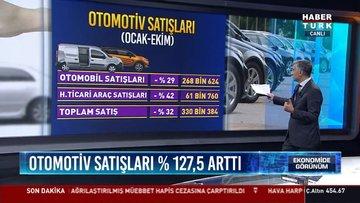 ODD: Otomotiv pazarı Ekim'de yüzde 127.5 arttı
