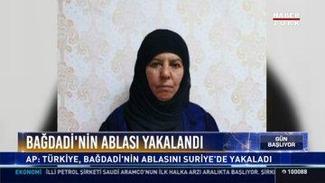 AP duyurdu! Türkiye, Bağdadi'nin ablasını yakaladı