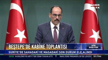 Cumhurbaşkanlığı Sözcüsü İbrahim Kalın'dan önemli açıklamalar