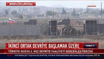 Türkiye ile Rusya'dan ikinci ortak devriye