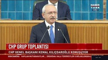 CHP Genel Başkanı Kemal Kılıçdaroğlu CHP Grup Toplantısında konuştu