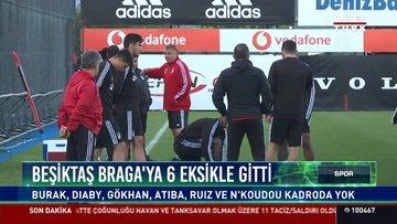 Beşiktaş'ta 6 isim kadroya alınmadı!