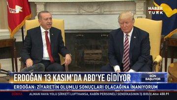 Cumhurbaşkanı Erdoğan 13 Kasım'da ABD'ye gidiyor