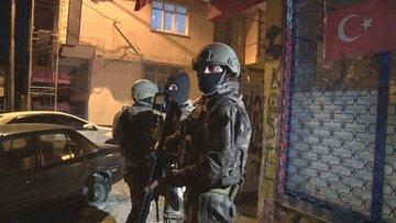 Son dakika... İstanbul'da terör operasyonu: Çok sayıda gözaltı var