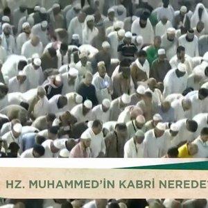 Hz. Muhammed'in kabri Mescid-i Nebevi'den görüntüler!