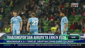 Trabzonspor'dan Avrupa'ya erken veda