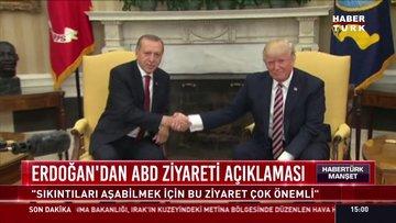 13 Kasım'daki Erdoğan-Trump zirvesi