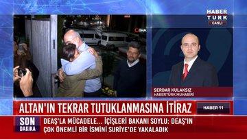 Altan'ın tekrar tutuklanmasına itiraz