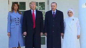 Cumhurbaşkanı Erdoğan, Beyaz Saray'da