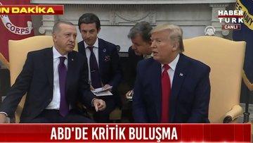 ABD'de Erdoğan-Trump zirvesi