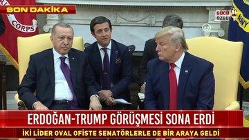 Erdoğan ve Trump'tan Senatörlerin sorularına yanıt
