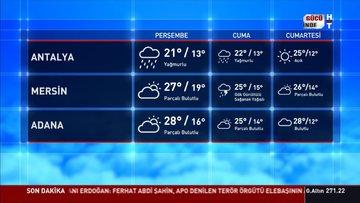 Meteoroloji'den Türkiye'nin batısı için sağanak uyarısı