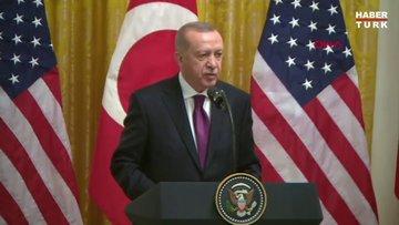 Cumhurbaşkanı Erdoğan: İş birliğimizin derinleştirilmesi konusunda hemfikiriz