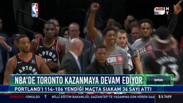 NBA'de Toronto kazanmaya devam ediyor