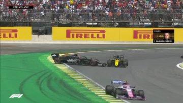 Formula 1'de Ferrari'yi yakan kaza!