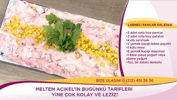 Labneli Pancar Salatası