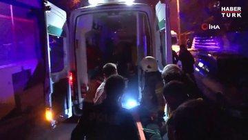 Kartal'da mobilya atölyesinde çıkan yangında bir kişi yaşamını yitirdi