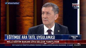 Bakan Selçuk'tan Habertürk'e açıklamalar