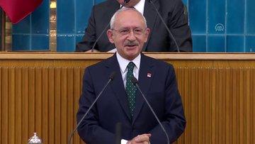 CHP Lideri Kılıçdaroğlu partisinin grup toplantısında