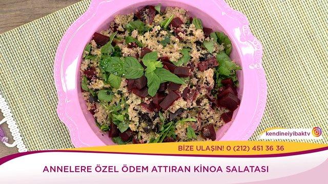 Ödem Attıran Kinoa Salatası