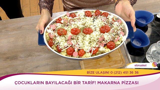 Makarna Pizzası