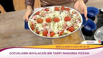 Makarna Pizzası nasıl yapılır? İşte tarifi