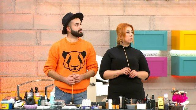Emine ve Burak yarışmaya veda etti!