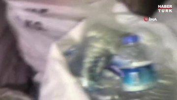 Tekirdağ'da 1700 litre sahte içki ele geçirildi