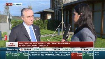 Galatasaray başkanı Mustafa Cengiz soruları yanıtlıyor