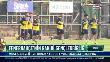 Fenerbahçe'nin rakibi Gençlerbirliği