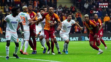 Galatasaray: 1 - Alanyaspor: 0   MAÇ SONUCU