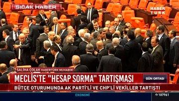 Meclis'te iktidar-muhalefet kavgası!