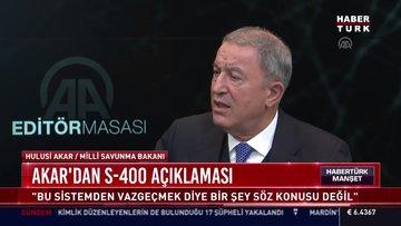 Akar'dan S-400 açıklaması