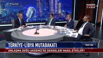 Teke Tek - 10 Aralık 2019 (Türkiye-Libya mutabakatı Doğu Akdeniz'de dengeleri nasıl etkiler?)