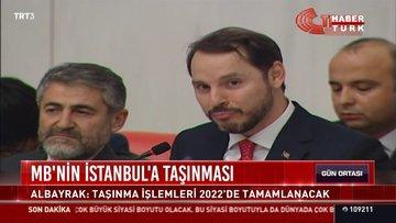 MB'nin İstanbul'a taşınması