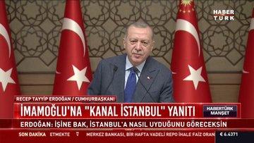 """İmamoğlu'na """"Kanal İstanbul"""" yanıtı"""