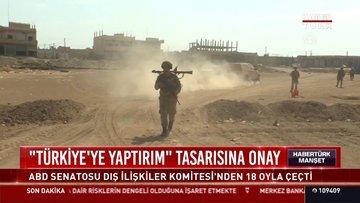 """""""Türkiye'ye yaptırım"""" tasarısına onay"""