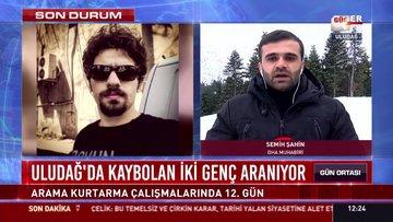 Uludağ'da kaybolan iki genç aranıyor